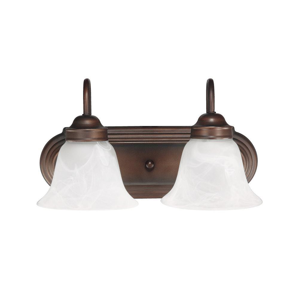 Capital Lighting Two Light Vanity Bathroom Lights item 1032BB-118