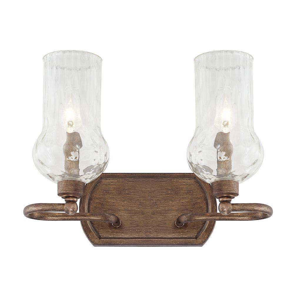 Capital Lighting Two Light Vanity Bathroom Lights item 111621RT-322