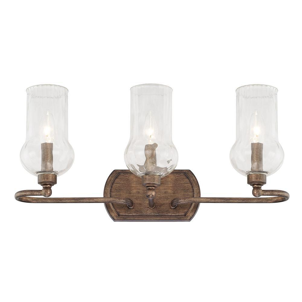 Capital Lighting Three Light Vanity Bathroom Lights item 111631RT-322