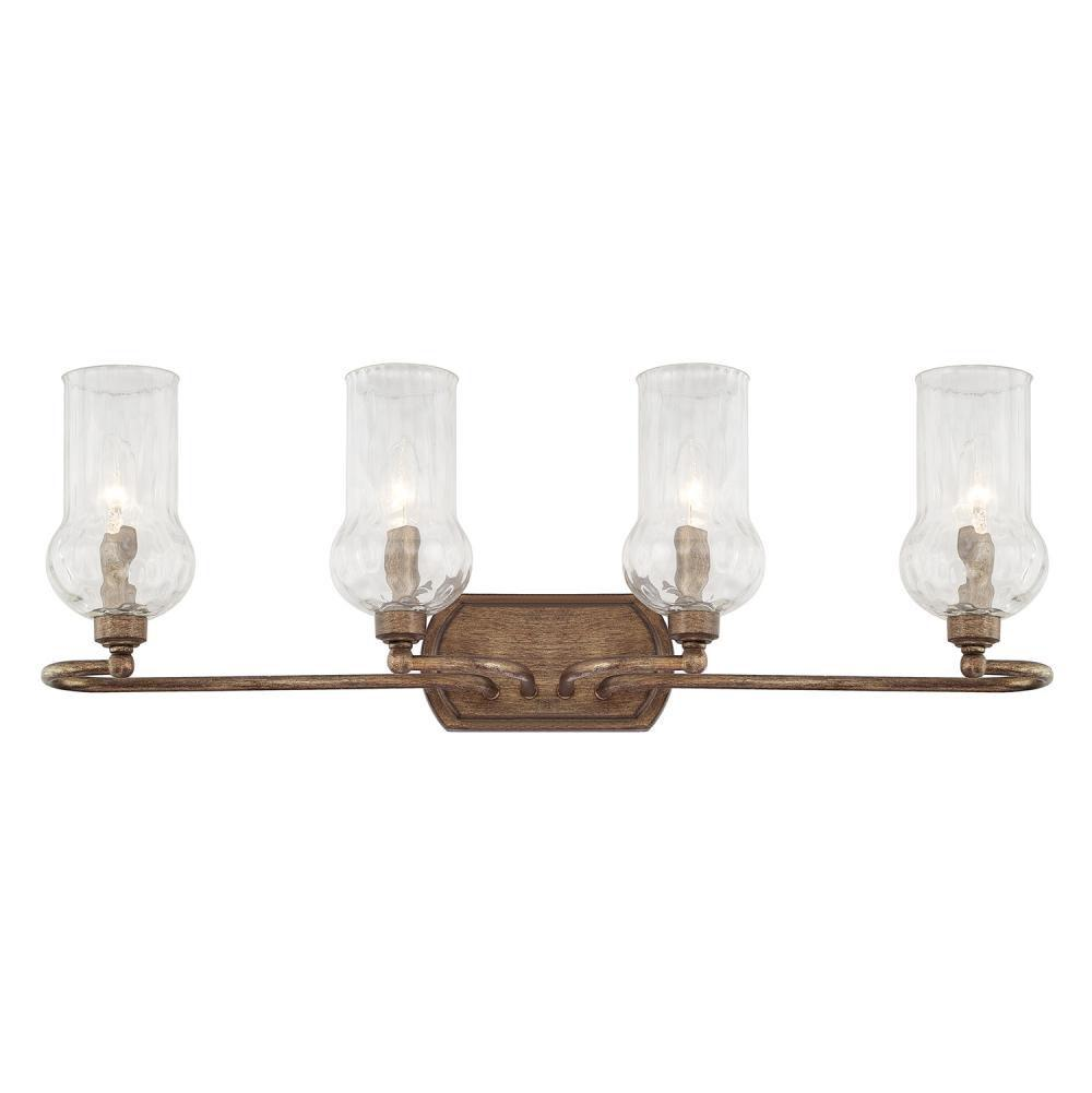 Capital Lighting Four Light Vanity Bathroom Lights item 111641RT-322