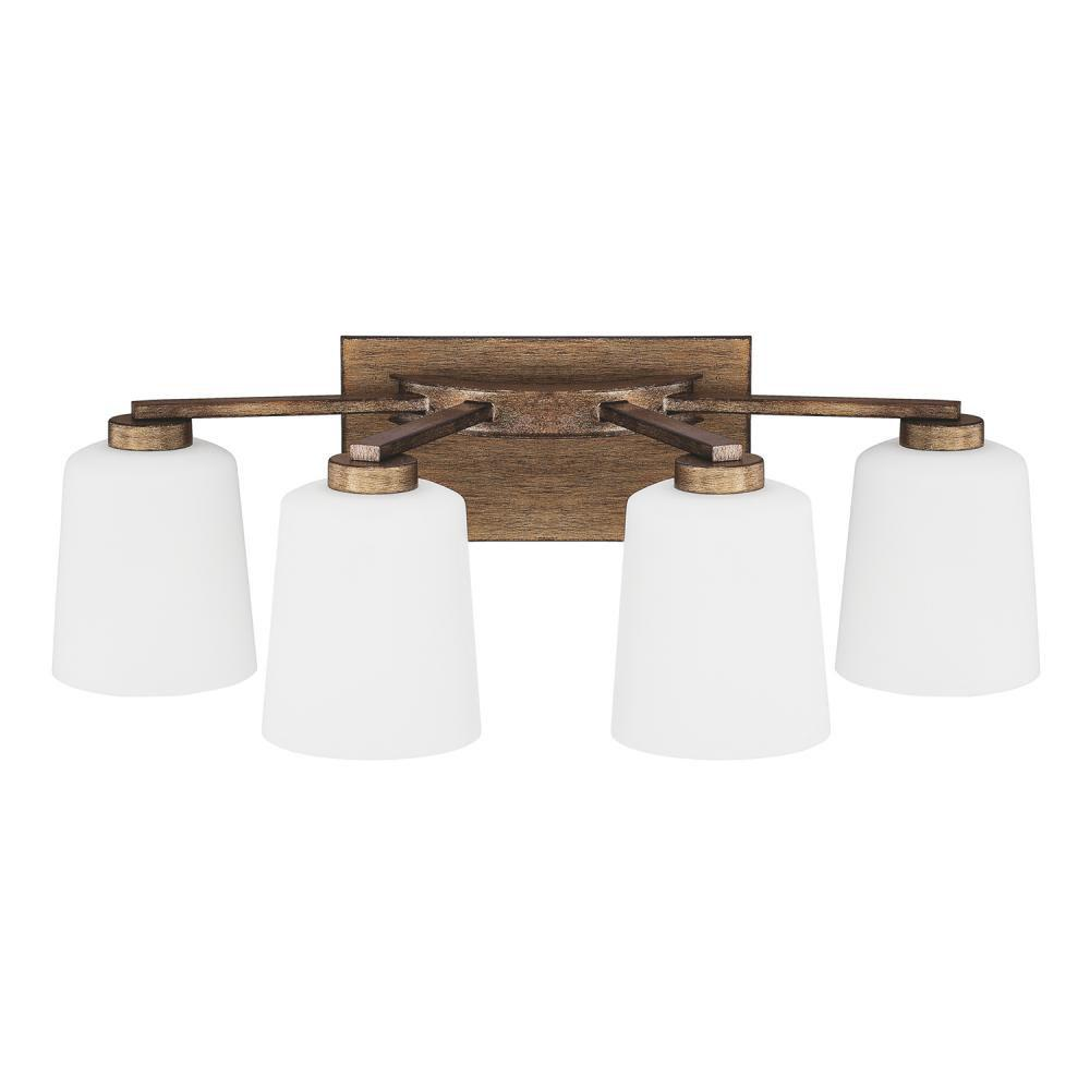 Capital Lighting Four Light Vanity Bathroom Lights item 112041RT-323