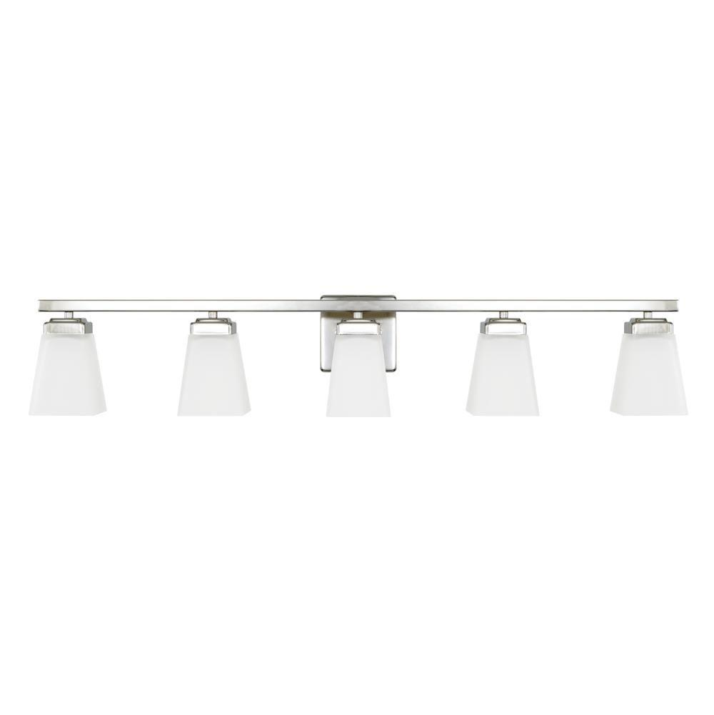 Capital Lighting Five Or More Vanity Bathroom Lights item 114451PN-334