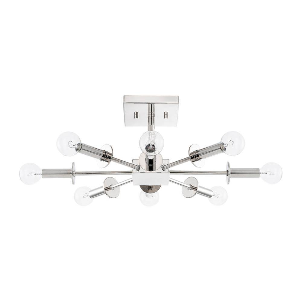 Capital Lighting Semi Flush Ceiling Lights item 219281PN