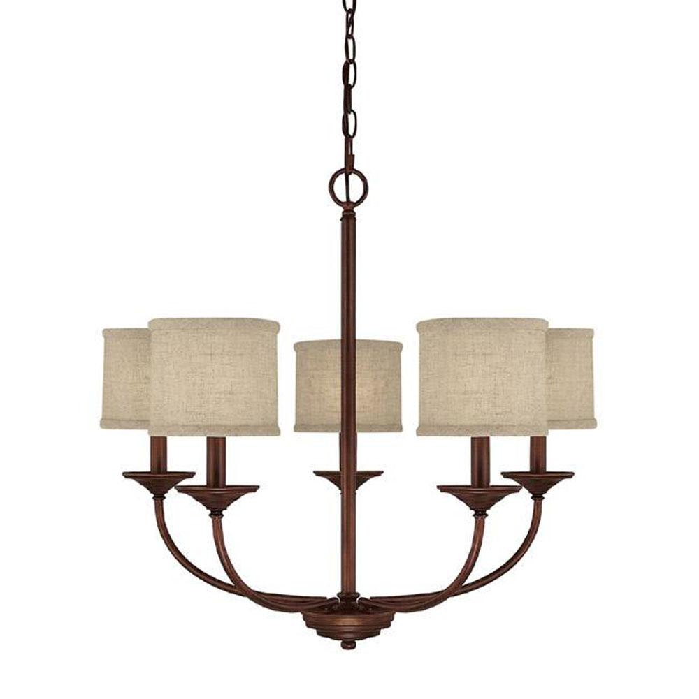 Capital Lighting Single Tier Chandeliers item 3925BB-468
