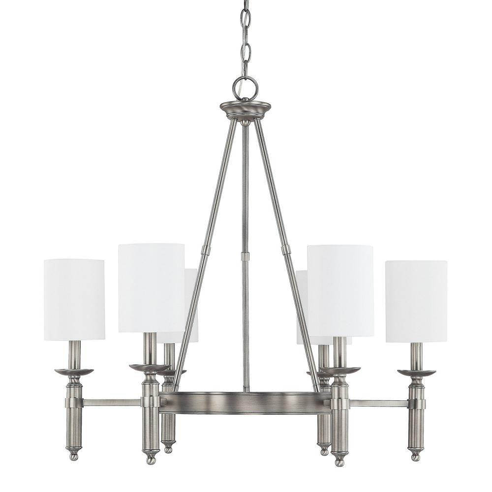 Capital Lighting Single Tier Chandeliers item 4046AN-489