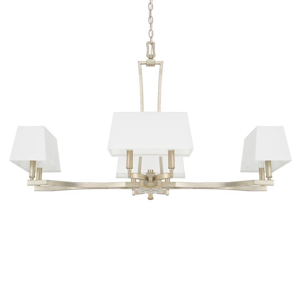 Capital lighting kitchens and baths by briggs grand island 56600 410182wg 657 brand capital lighting 8 light chandelier aloadofball Gallery