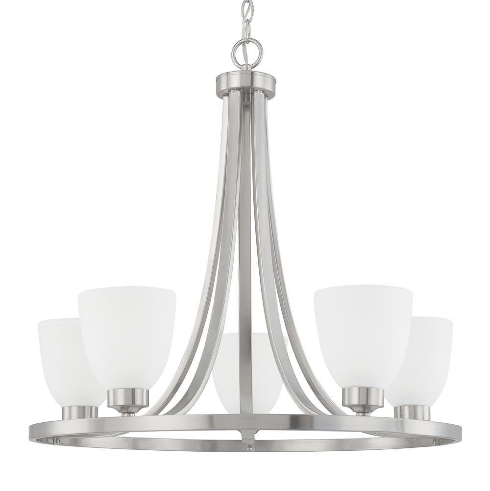 Capital Lighting Single Tier Chandeliers item 414351BN-333