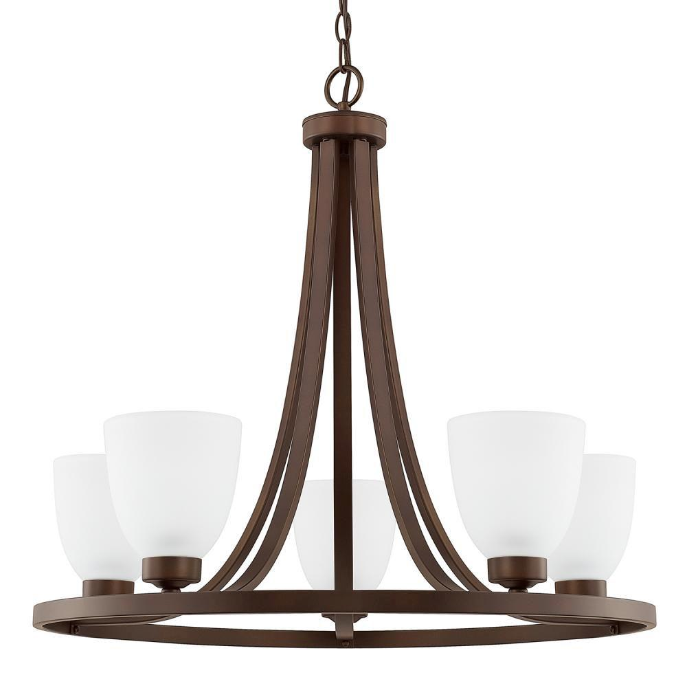 Capital Lighting Single Tier Chandeliers item 414351BZ-333