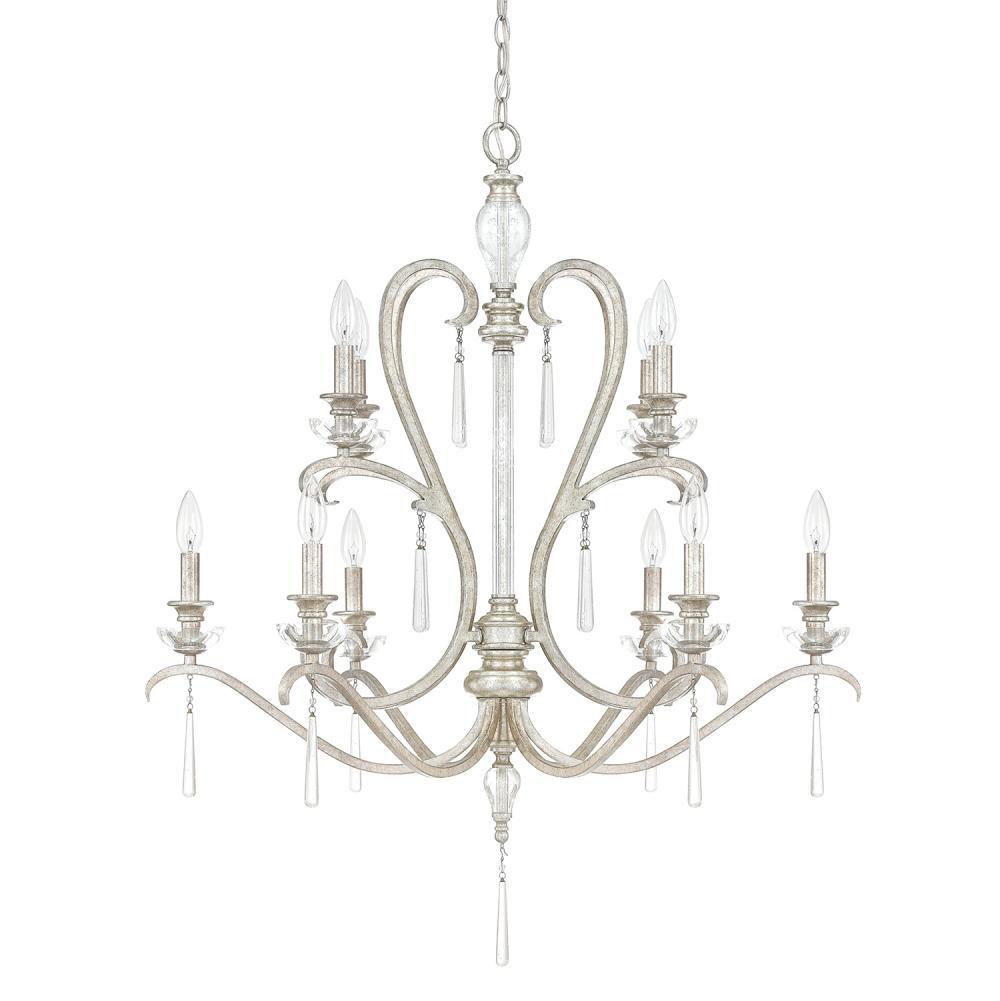 Capital Lighting Multi Tier Chandeliers item 4788AS-000