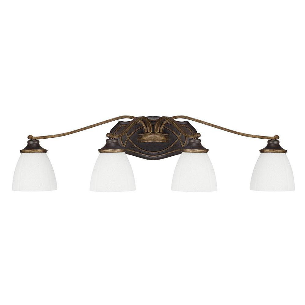 Capital Lighting Four Light Vanity Bathroom Lights item 8014SY-123
