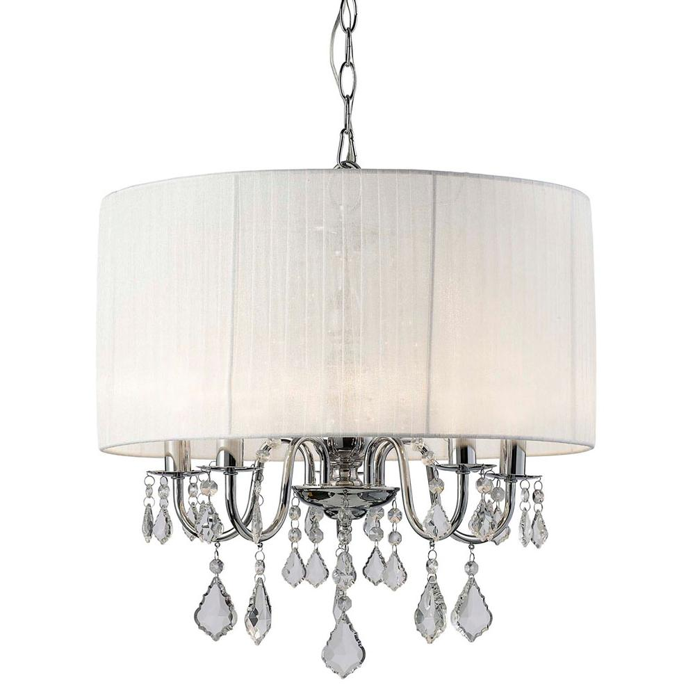 Canarm Drum Chandeliers Chandeliers item ICH438A05CH18