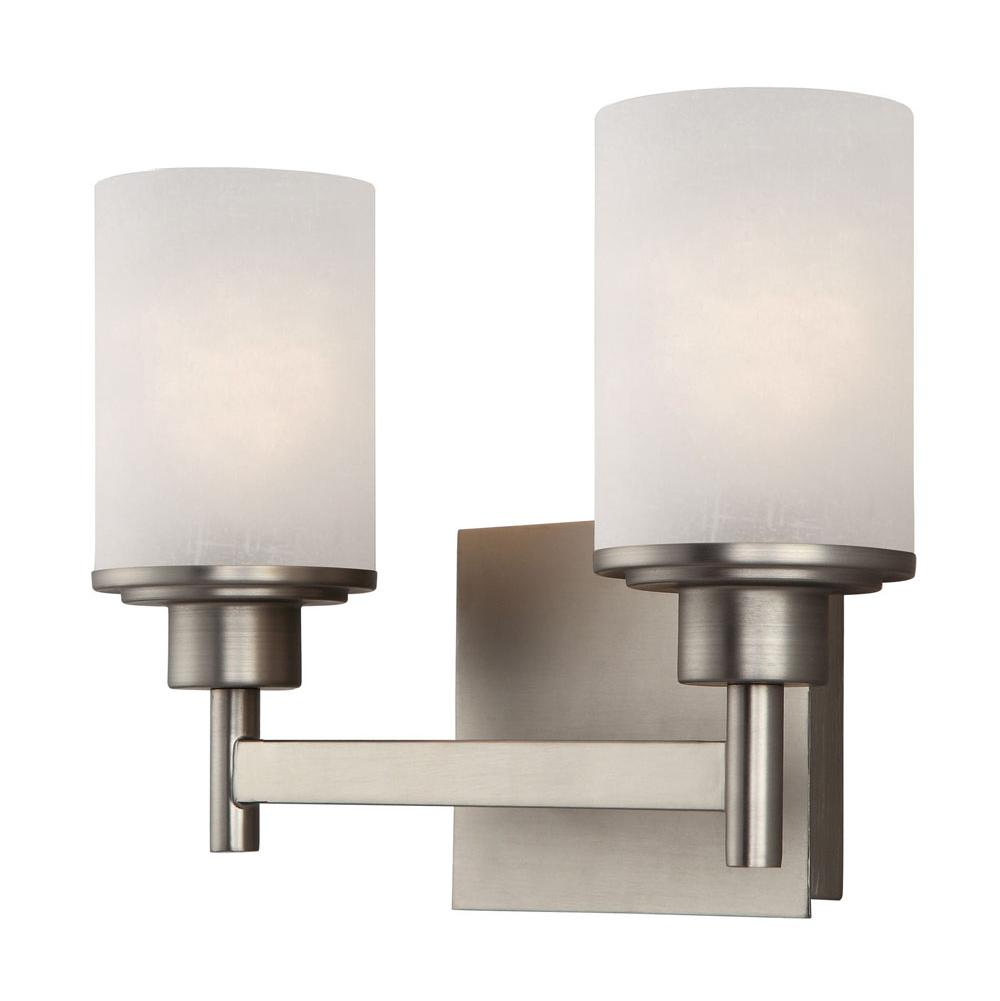 Canarm Two Light Vanity Bathroom Lights item IVL408A02BN