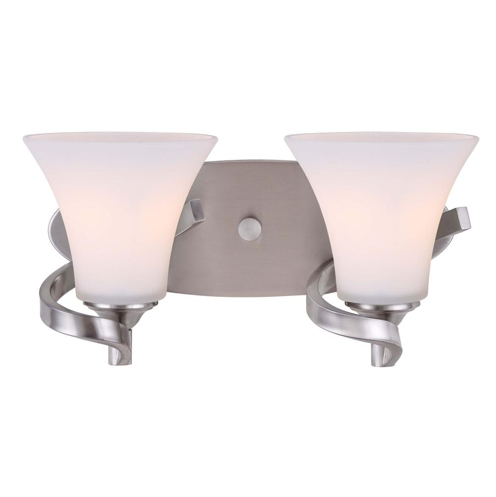 Canarm Two Light Vanity Bathroom Lights item IVL587A02BN