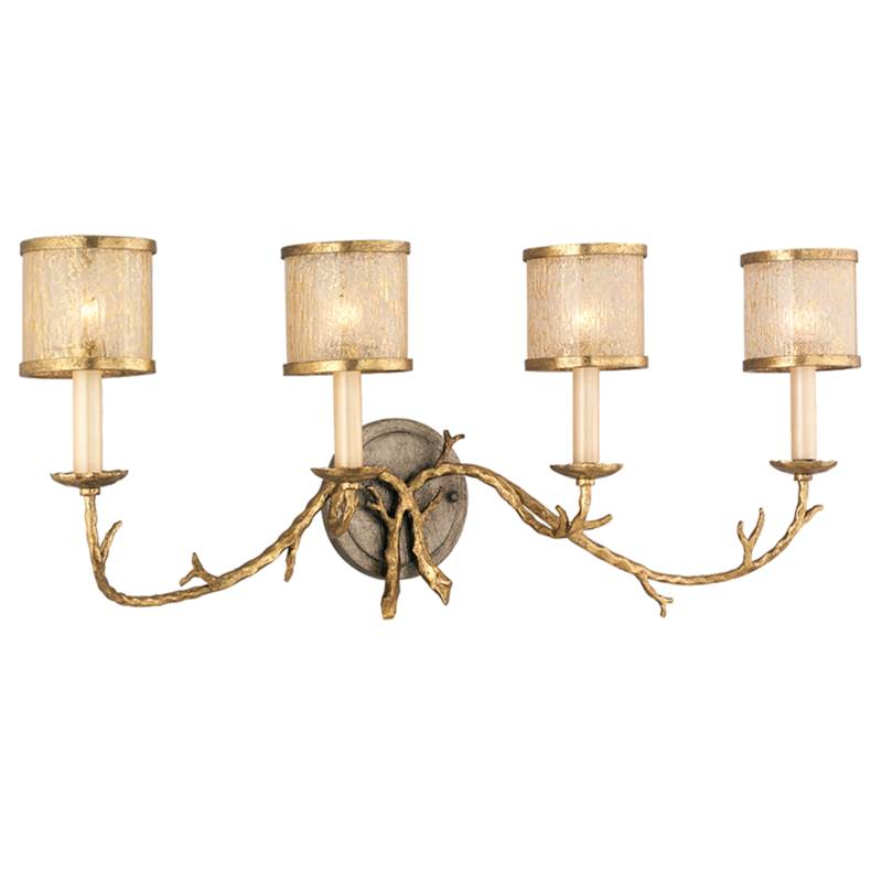 Corbett Lighting Four Light Vanity Bathroom Lights item 66-64