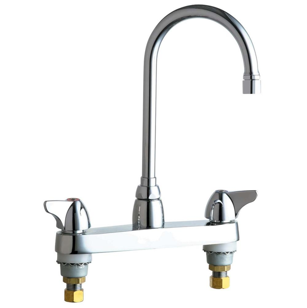 Chicago Faucet 897 897 Crcf Manual Sink Faucets Chicago