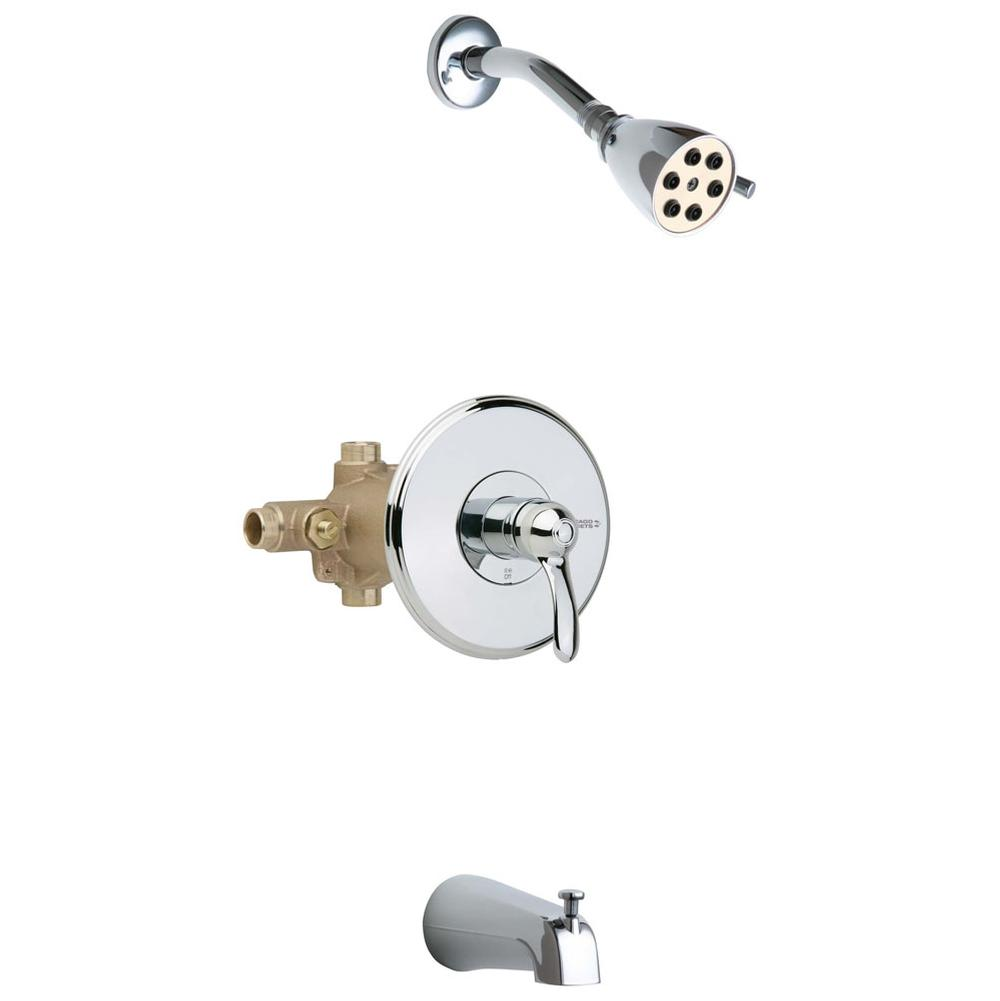 Chicago Faucets  Tub And Shower Faucets item 1905-600CP