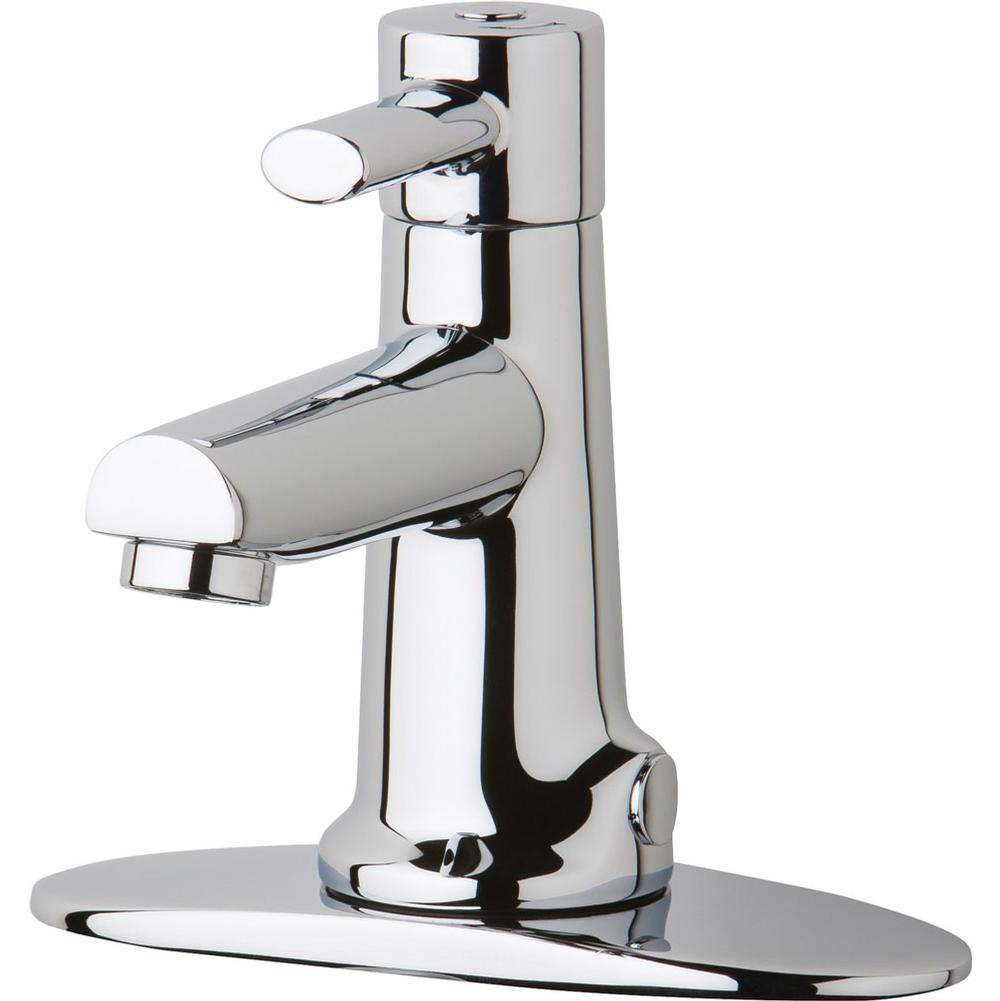 Chicago Faucets Single Hole Bathroom Sink Faucets item 3511-4E2805AB