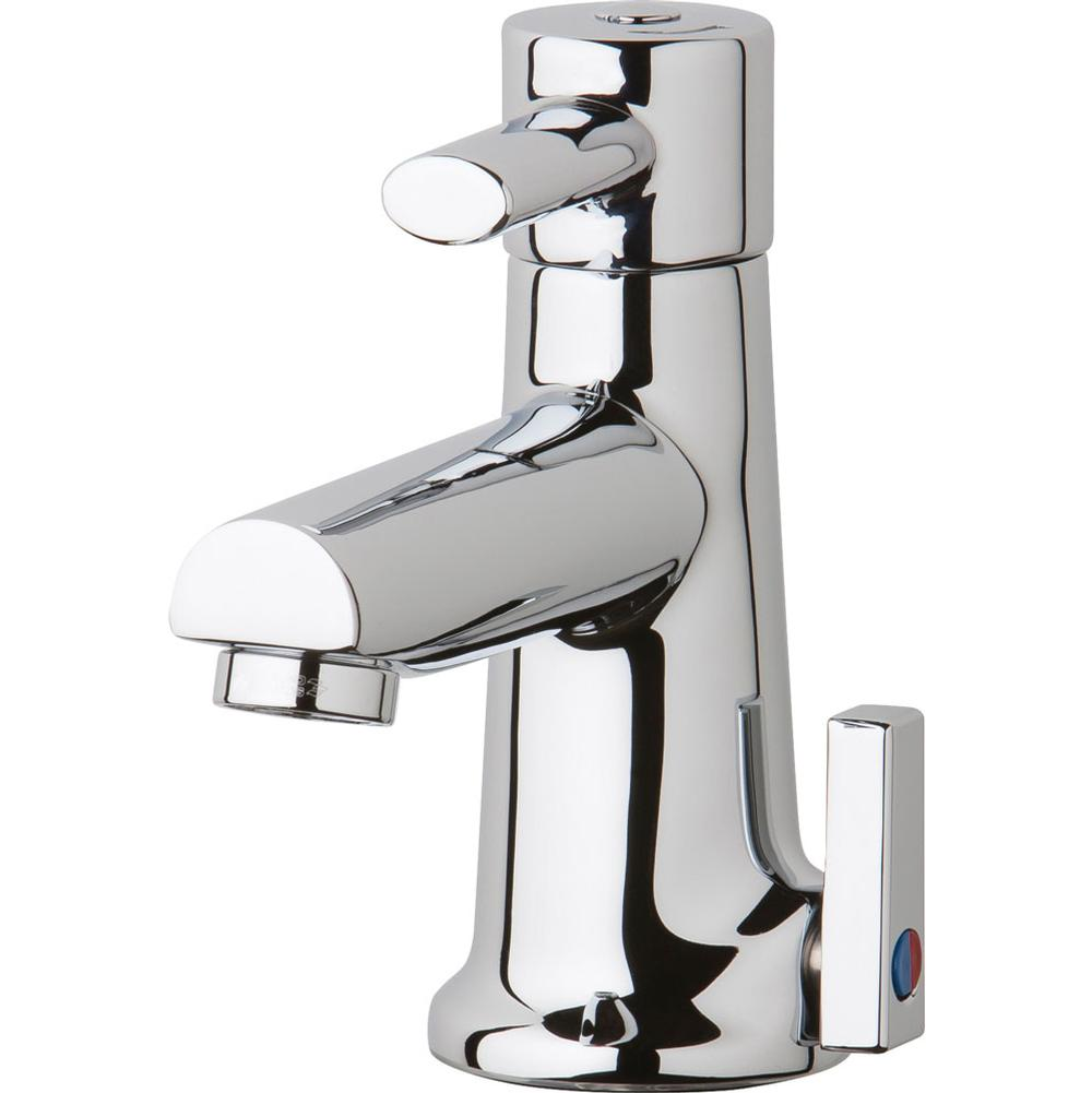 Chicago Faucets Single Hole Bathroom Sink Faucets item 3512-E2805AB