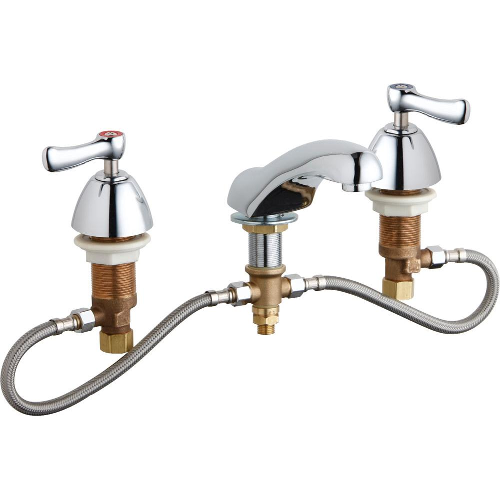 Chicago Faucets Widespread Bathroom Sink Faucets item 404-HZABCP