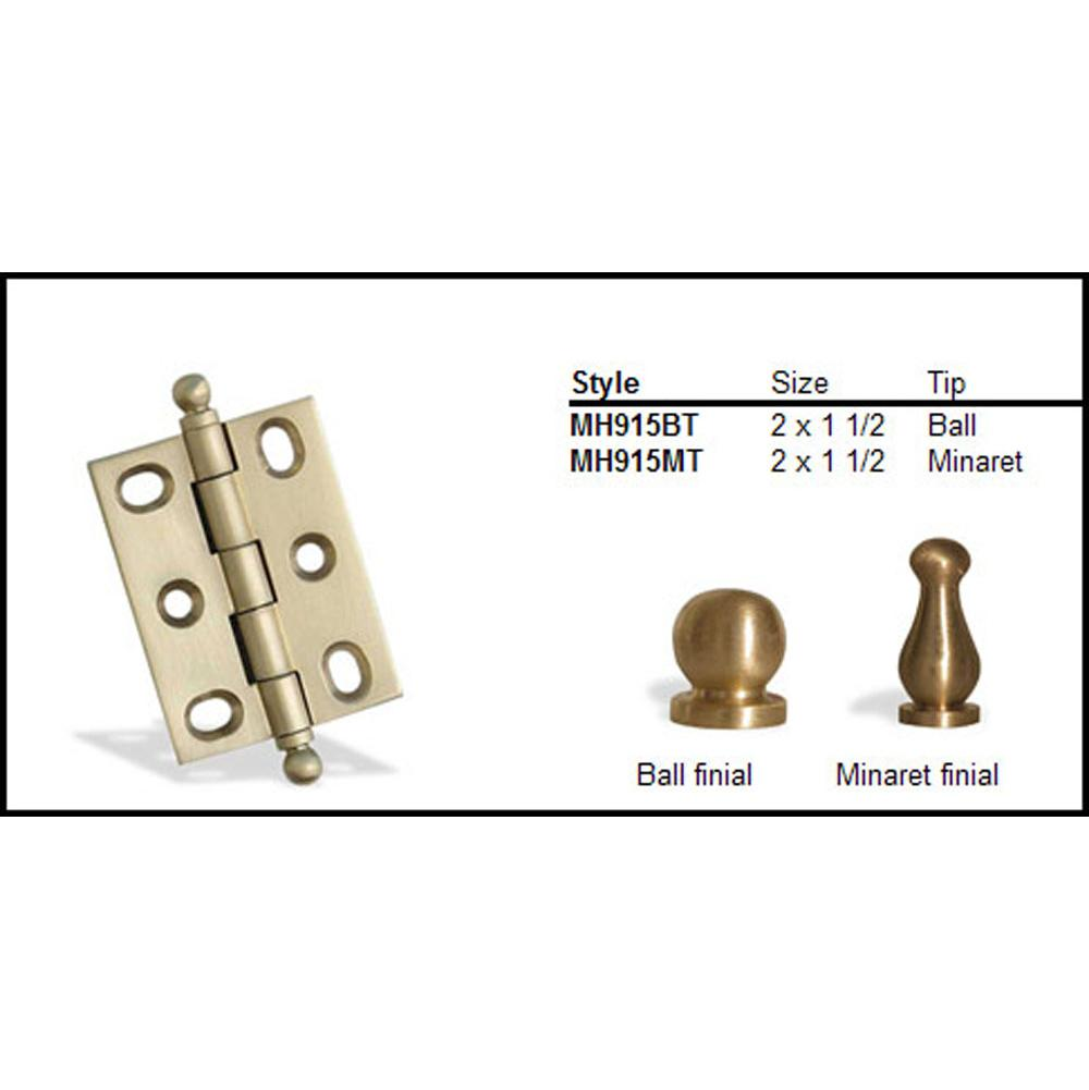 Colonial Bronze  Hinges item MH915BT-15