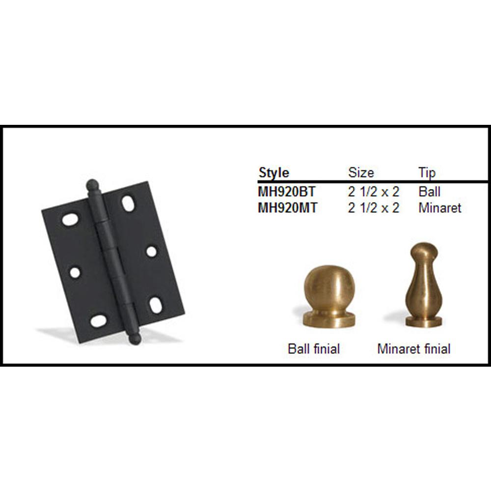 Colonial Bronze  Hinges item MH920BT-5