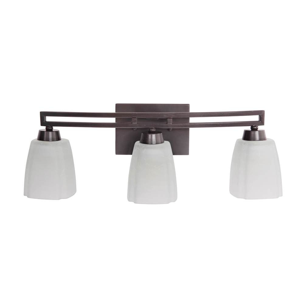 Craftmade Three Light Vanity Bathroom Lights item 14921OB3