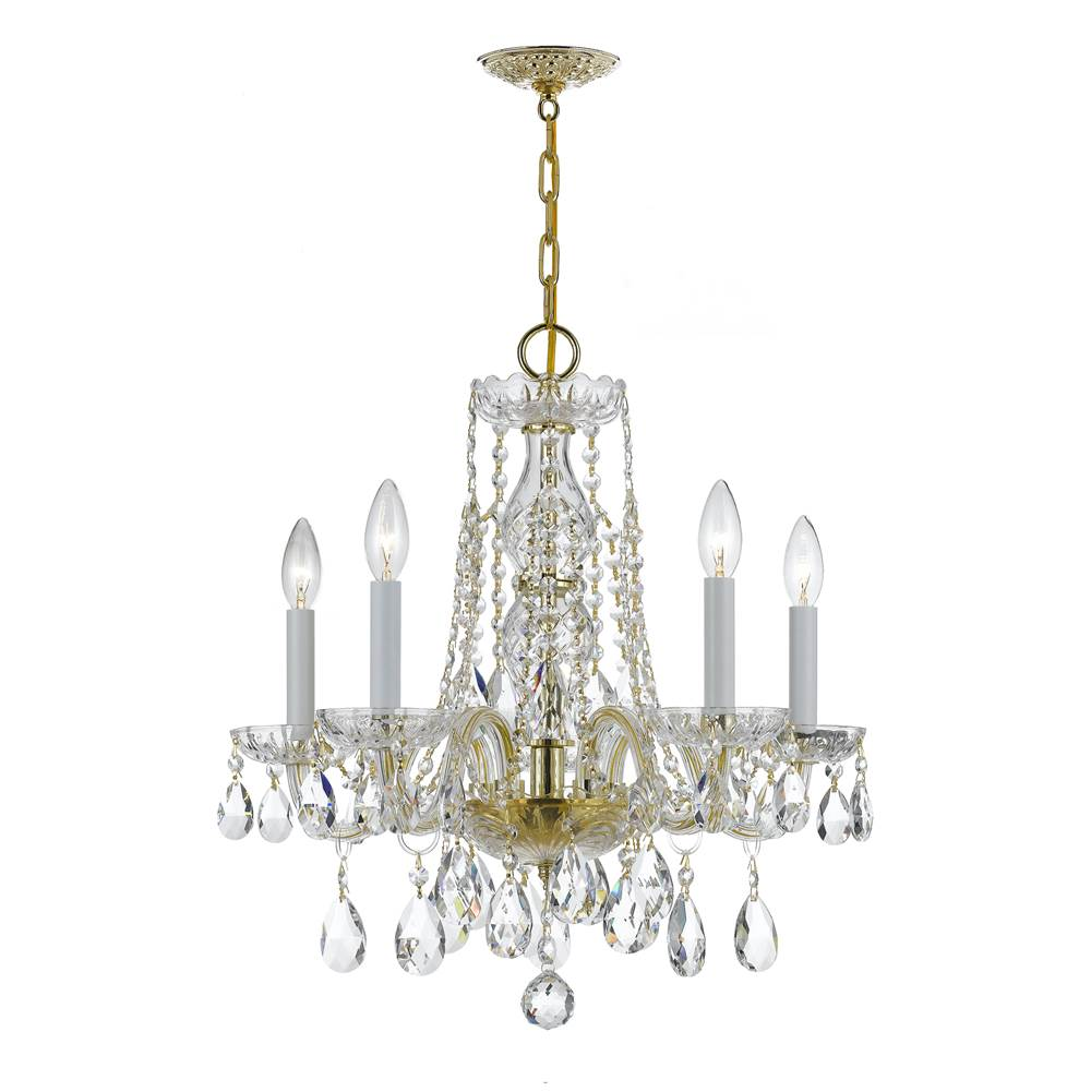 Crystorama Mini Chandeliers Chandeliers item 1061-PB-CL-MWP