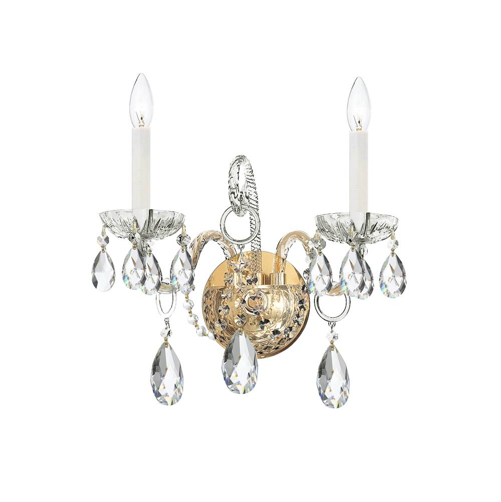 Crystorama Sconce Wall Lights item 1122-PB-CL-MWP
