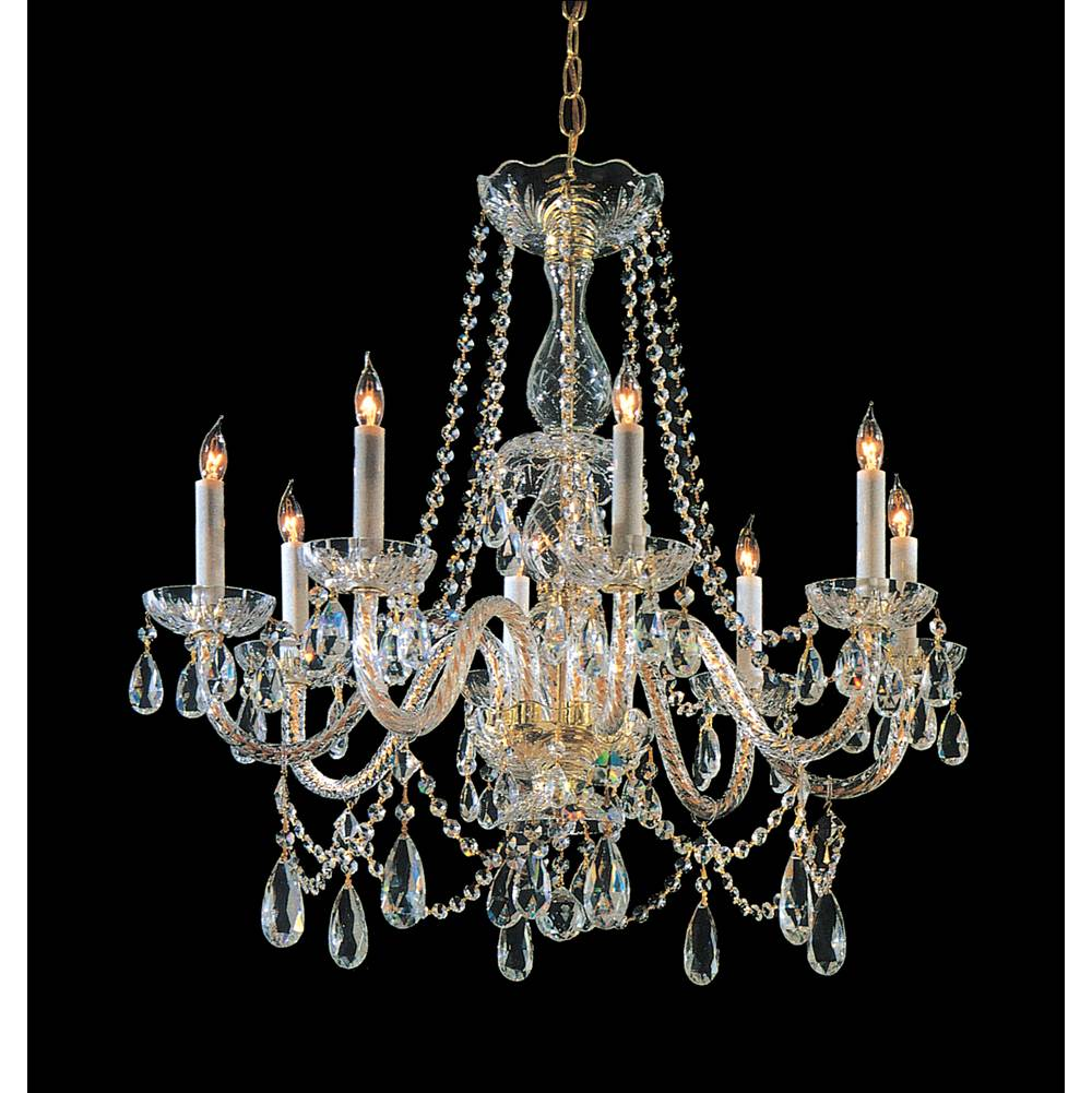 Crystorama Multi Tier Chandeliers item 1128-PB-CL-MWP