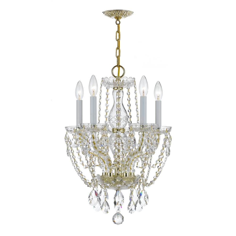 Crystorama Mini Chandeliers Chandeliers item 1129-PB-CL-MWP