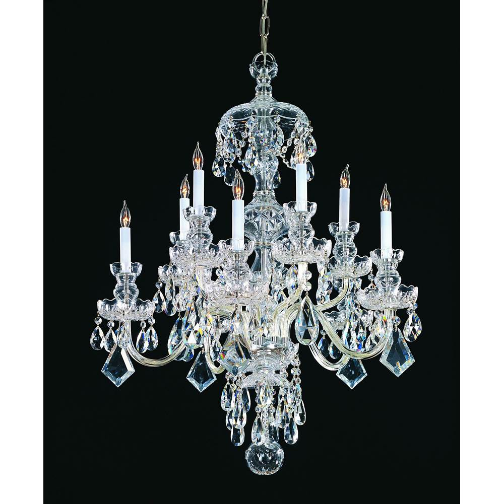 Crystorama Multi Tier Chandeliers item 1140-CH-CL-MWP
