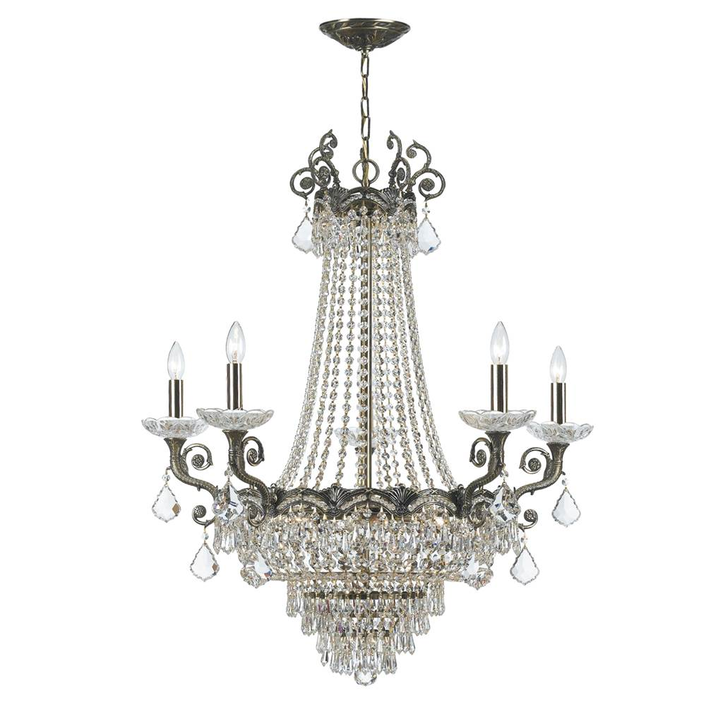 Crystorama Multi Tier Chandeliers item 1486-HB-CL-MWP
