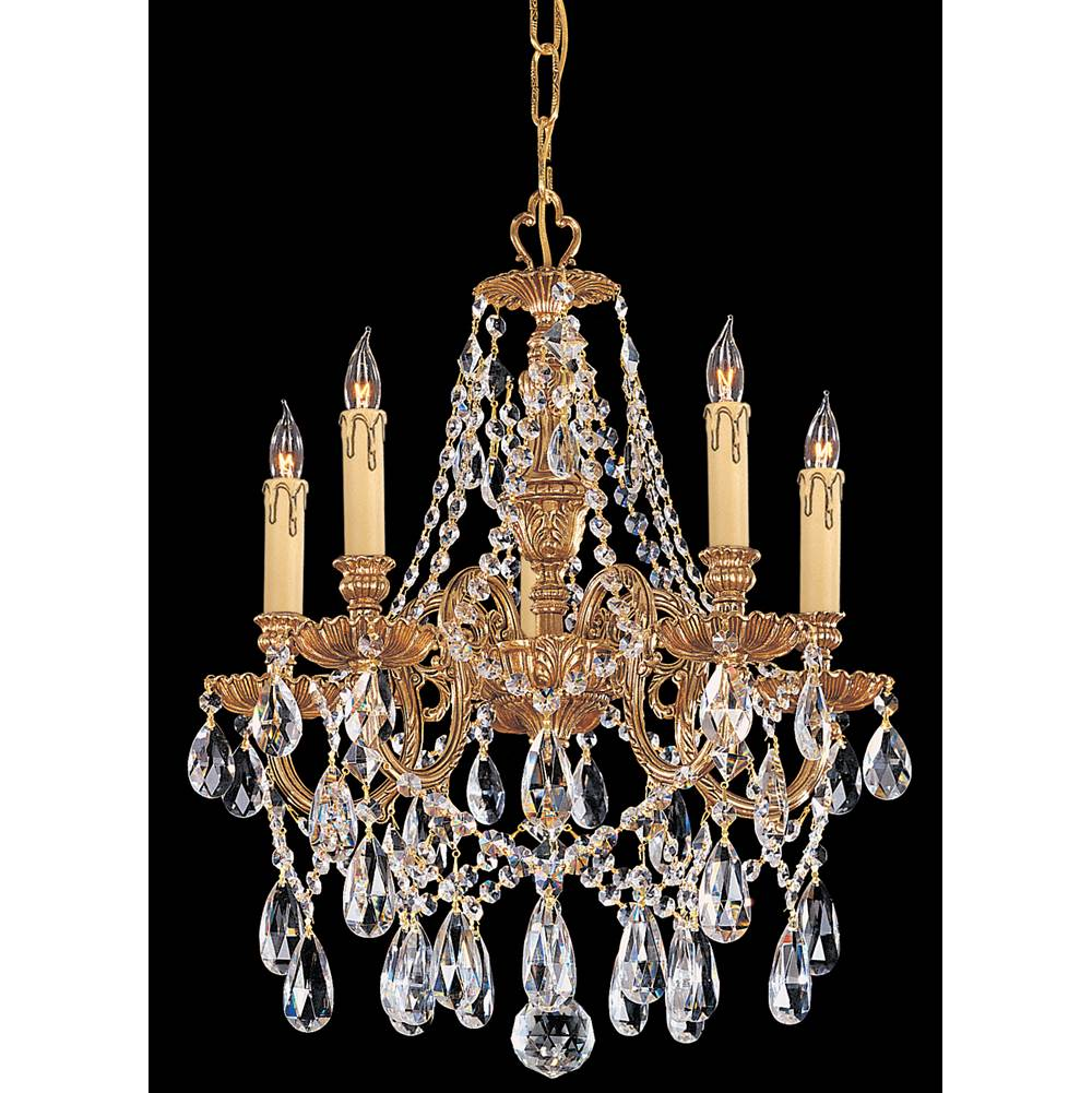 Crystorama Mini Chandeliers Chandeliers item 2705-OB-CL-S
