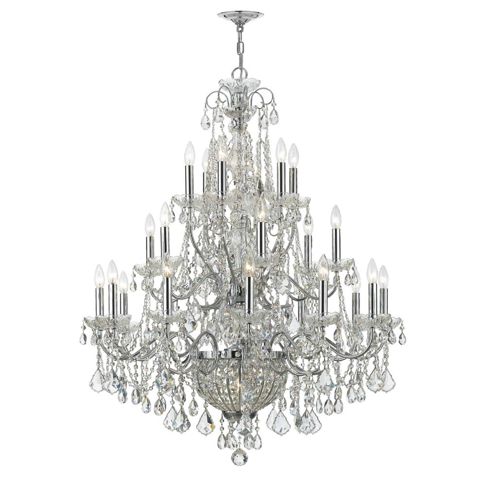 Crystorama Multi Tier Chandeliers item 3229-CH-CL-MWP
