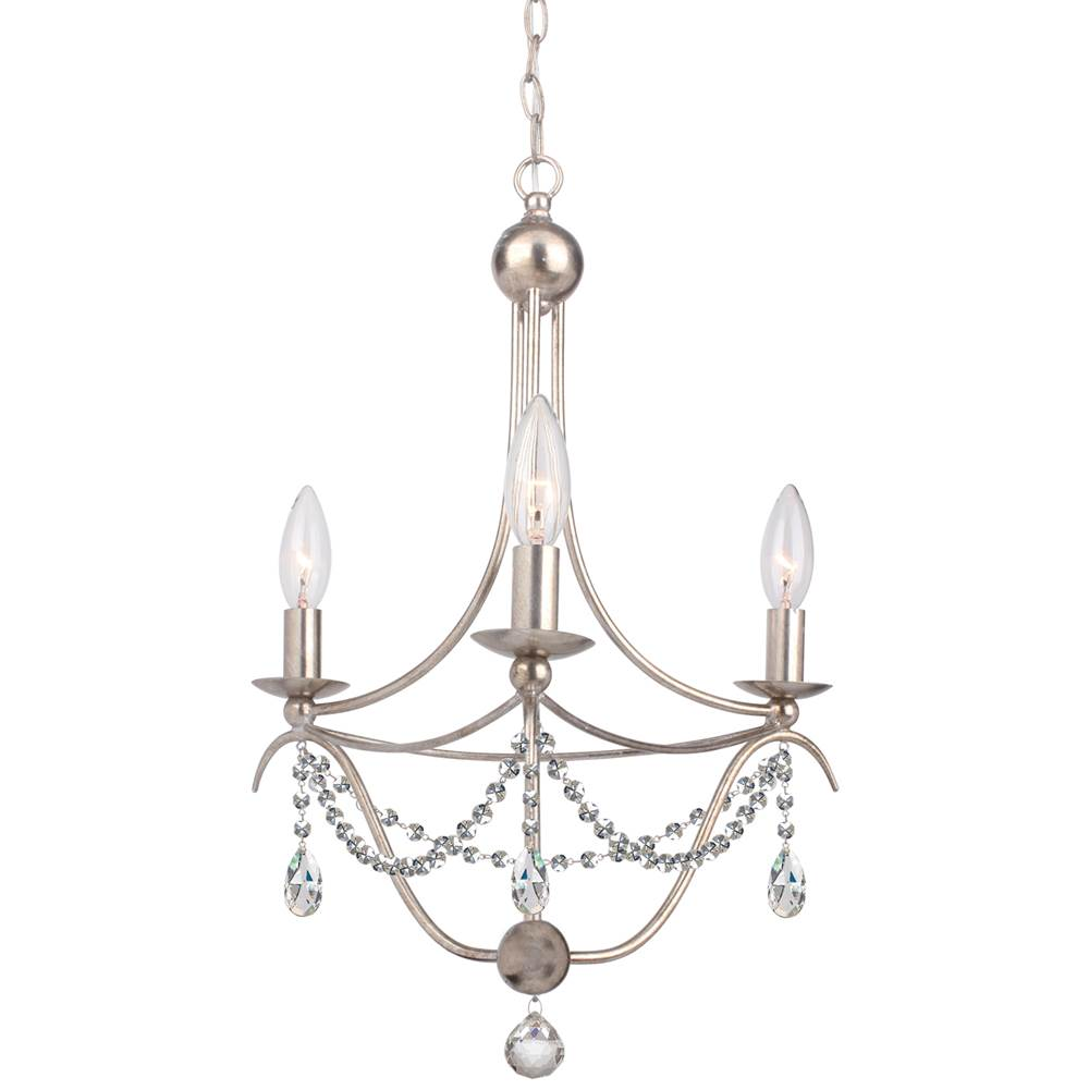 Crystorama Mini Chandeliers Chandeliers item 413-SA-CL-MWP