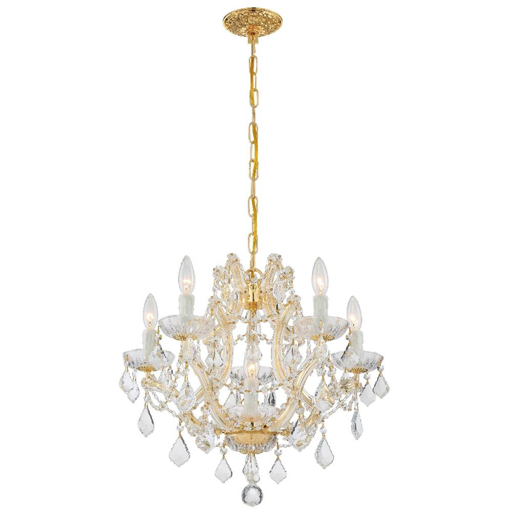 Crystorama Mini Chandeliers Chandeliers item 4405-GD-CL-SAQ