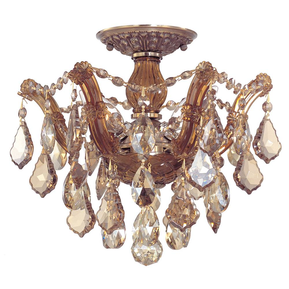 Crystorama Semi Flush Ceiling Lights item 4430-AB-GTS