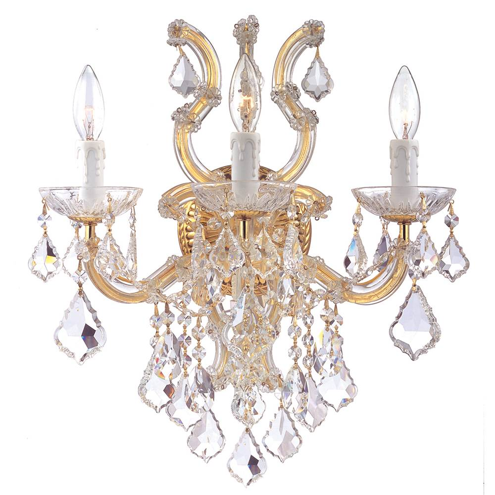 Crystorama Sconce Wall Lights item 4433-GD-CL-MWP