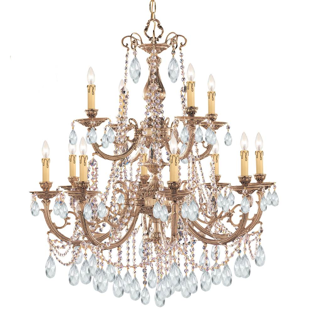 Crystorama Multi Tier Chandeliers item 479-OB-CL-SAQ