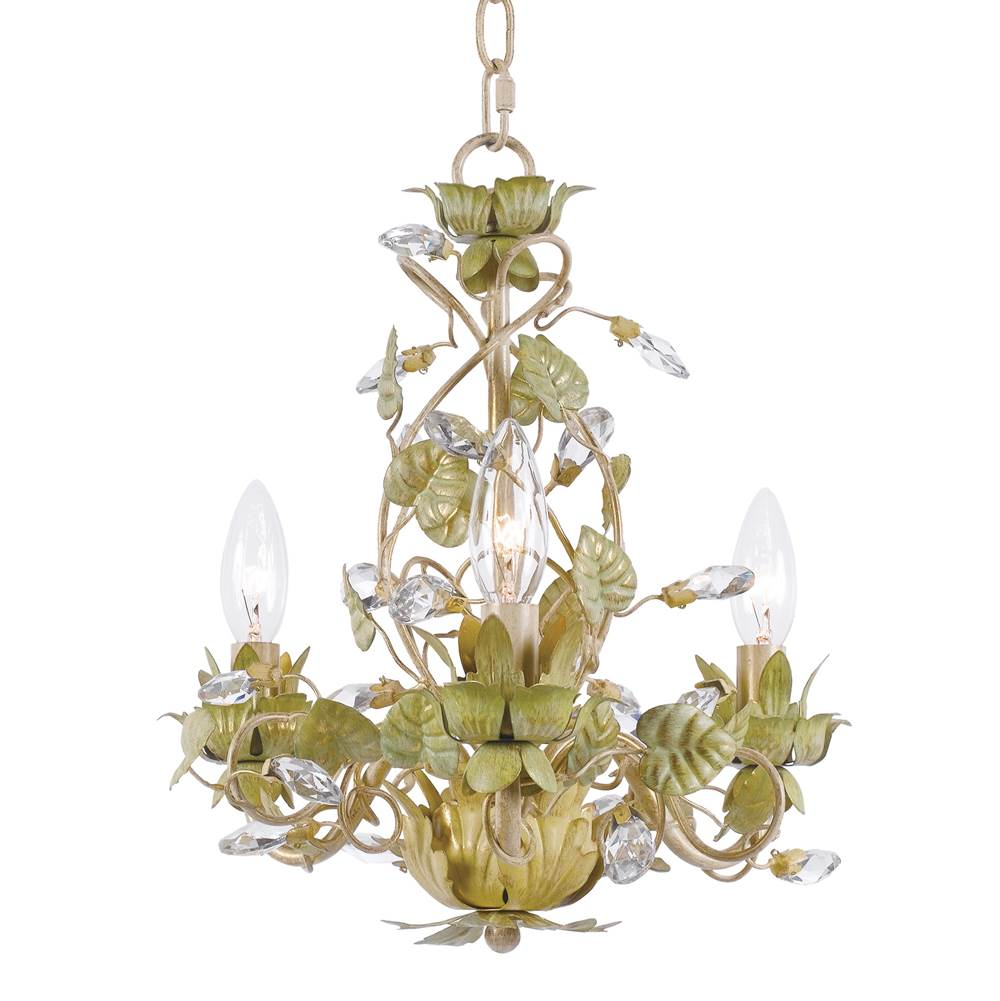 Crystorama Mini Chandeliers Chandeliers item 4843-CT
