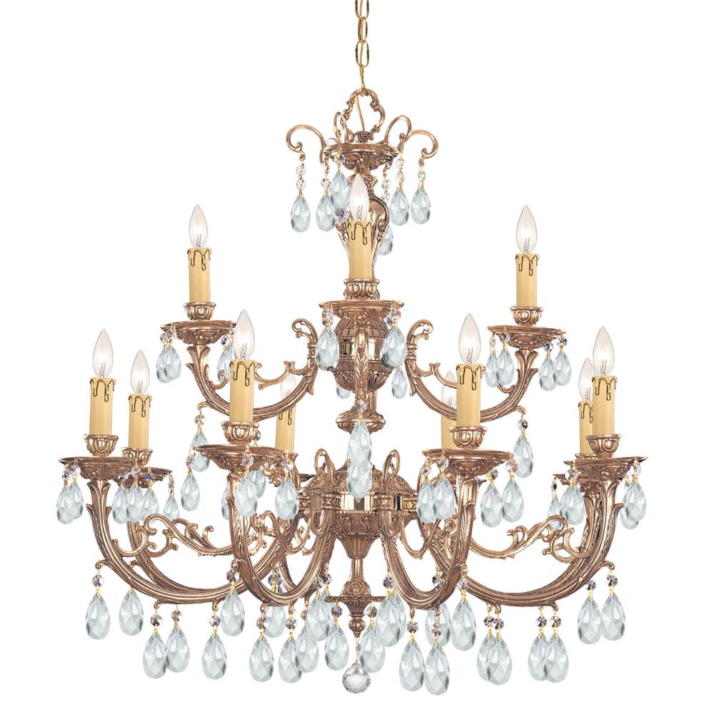 Crystorama Multi Tier Chandeliers item 499-OB-CL-S