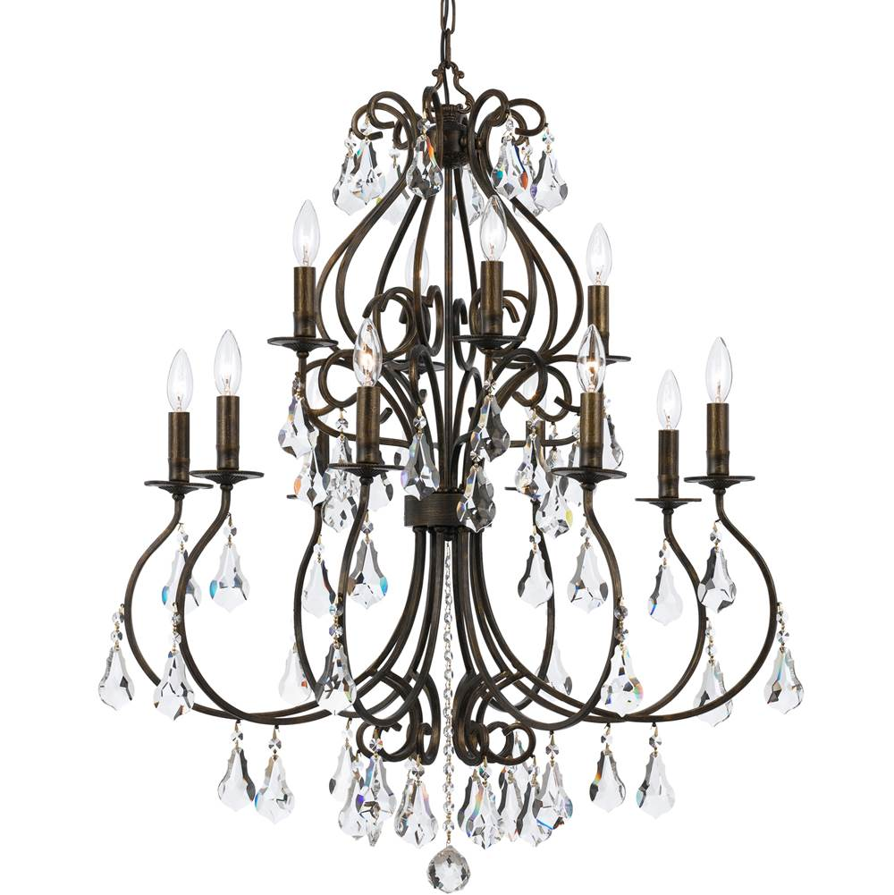 Crystorama Multi Tier Chandeliers item 5017-EB-CL-MWP