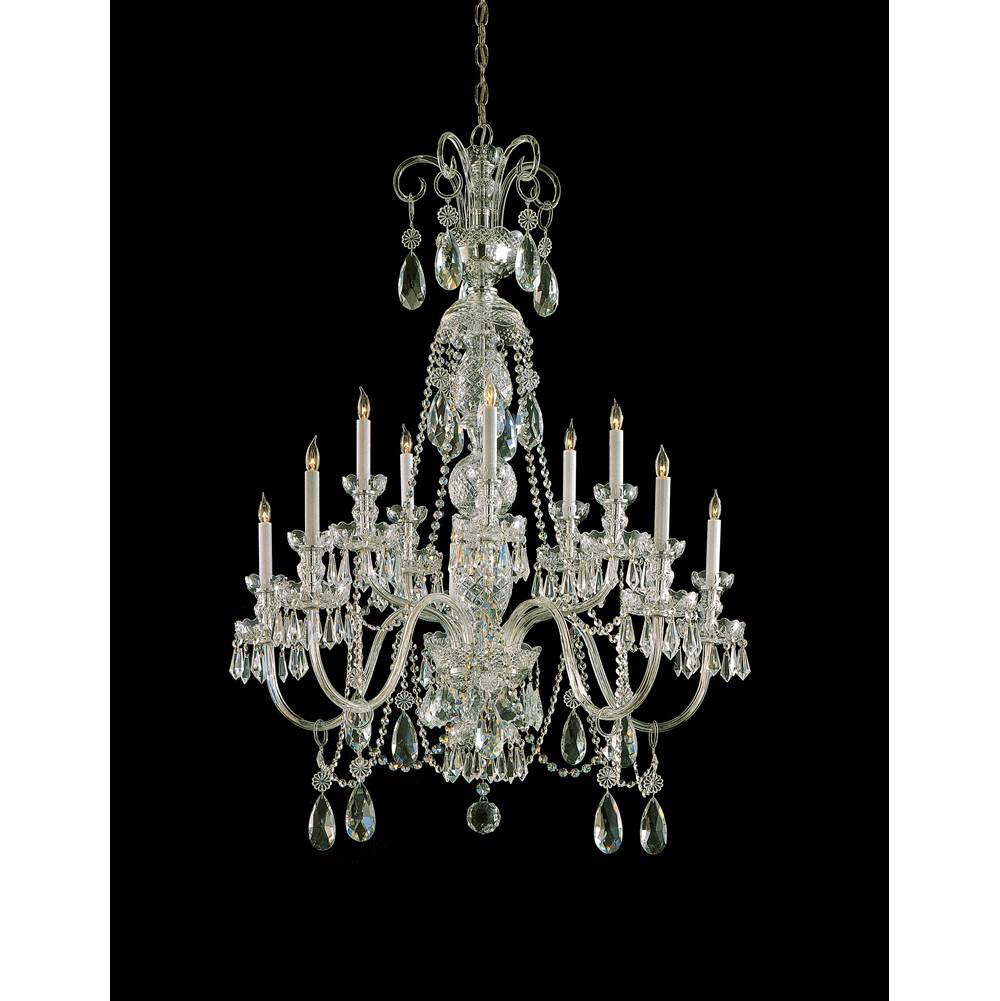 Crystorama Multi Tier Chandeliers item 5020-PB-CL-MWP
