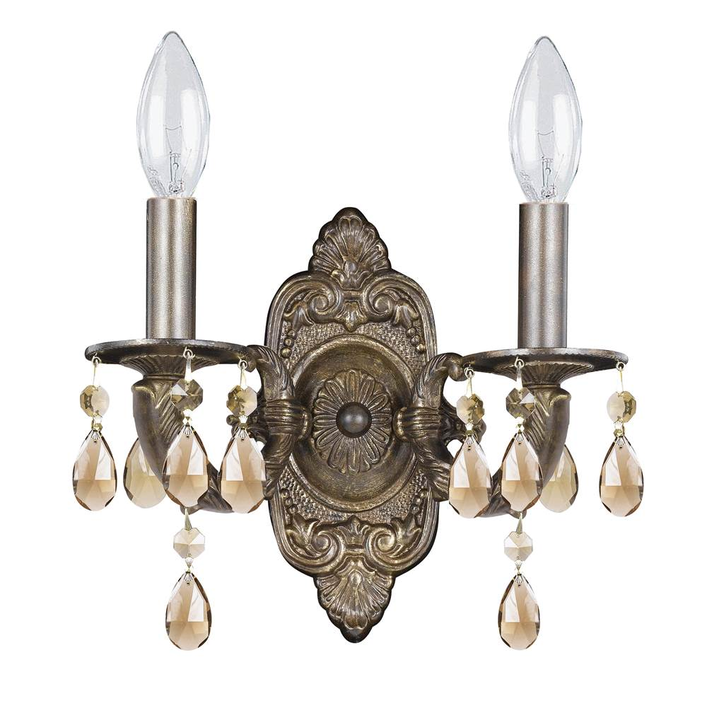 Crystorama Sconce Wall Lights item 5022-VB-GTS