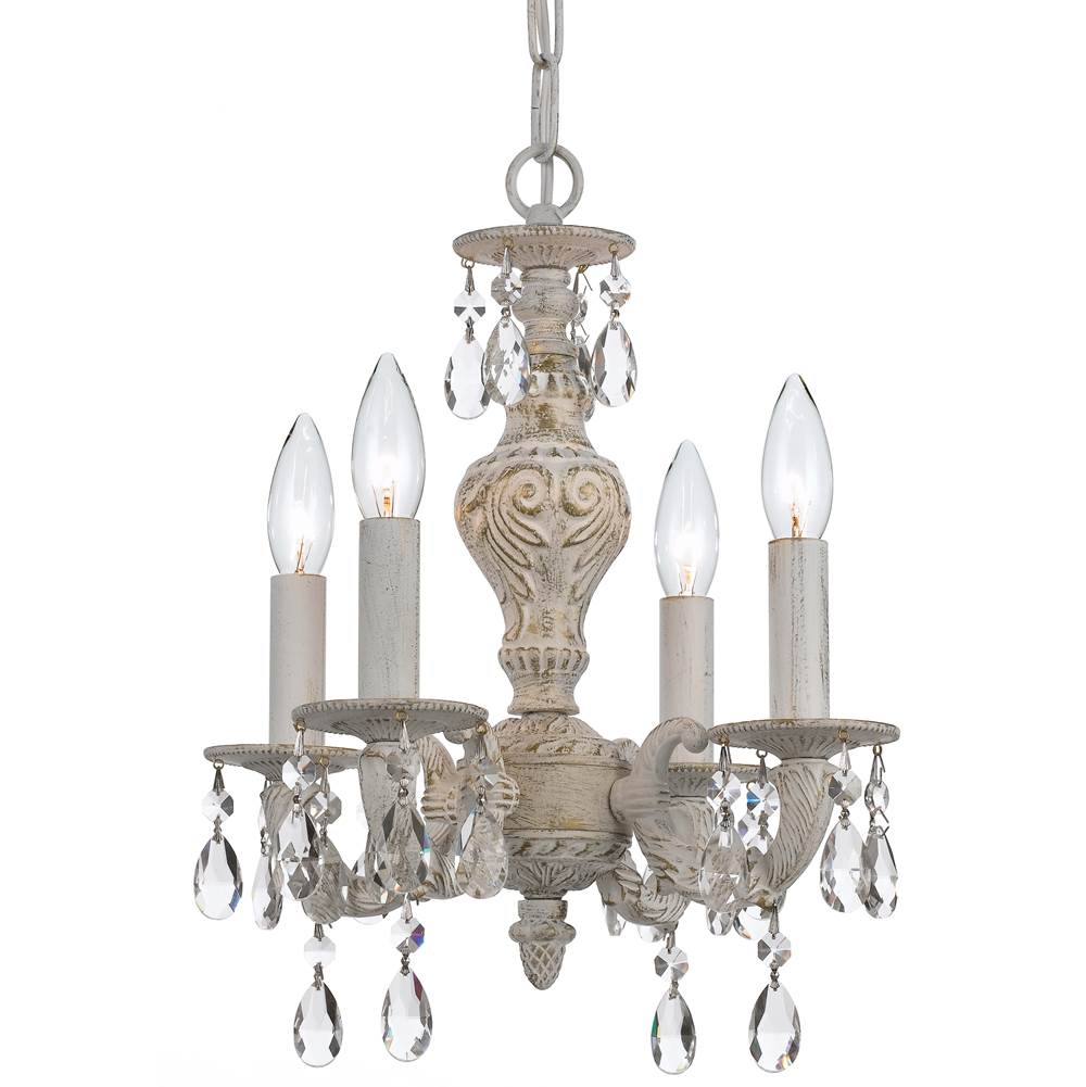 Crystorama Mini Chandeliers Chandeliers item 5024-AW-CL-S