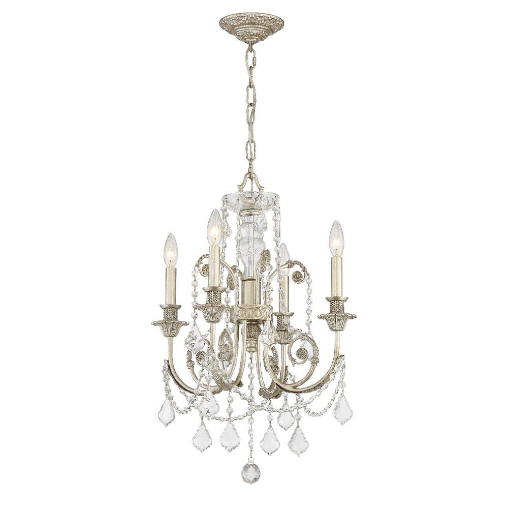 Crystorama Mini Chandeliers Chandeliers item 5114-OS-CL-MWP