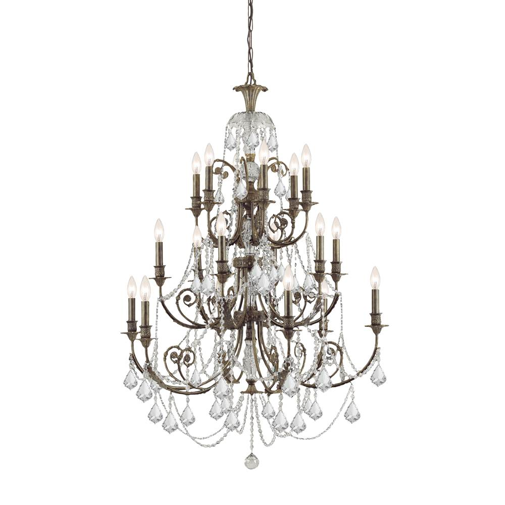 Crystorama Multi Tier Chandeliers item 5117-EB-CL-MWP