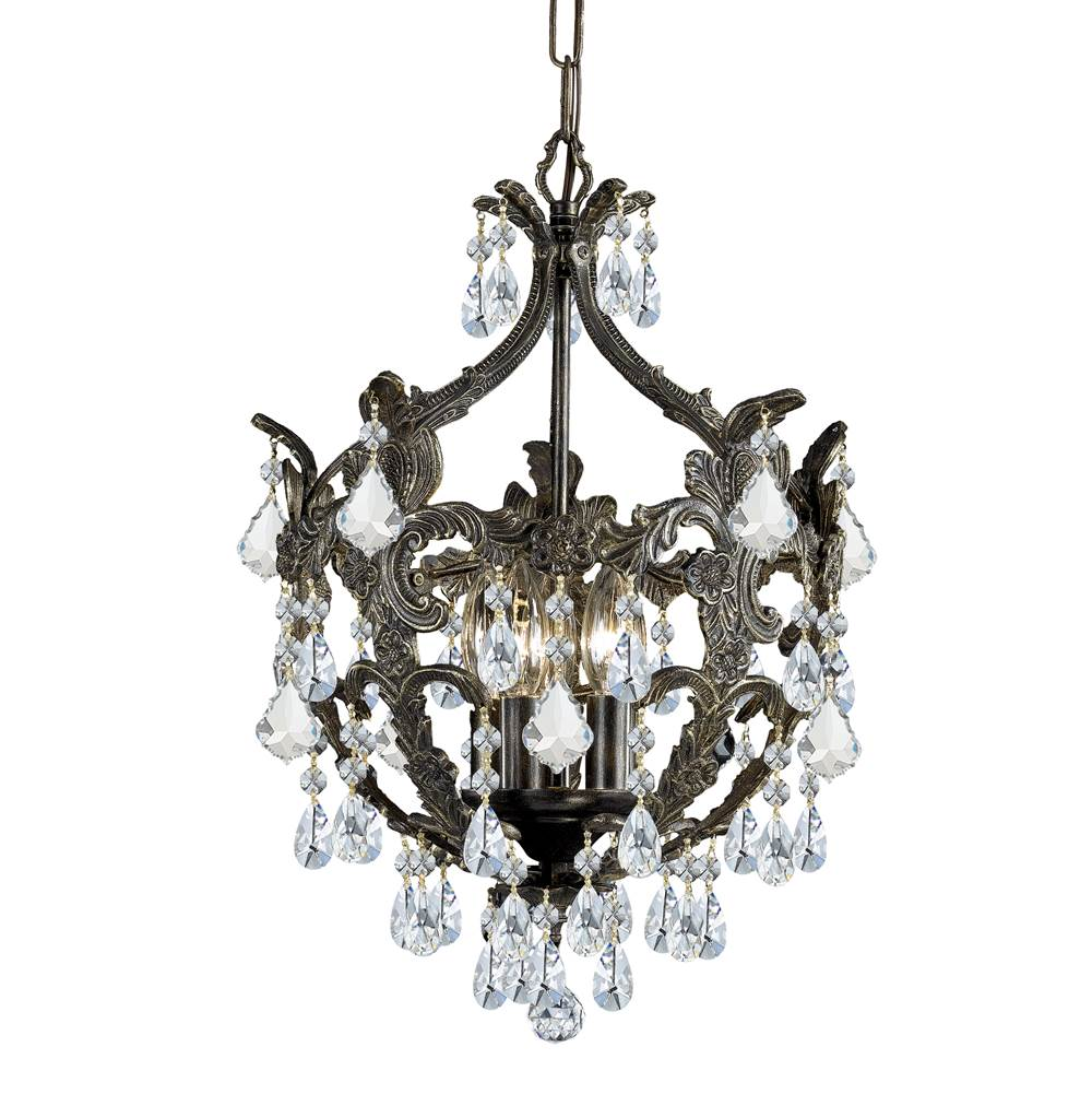 Crystorama Mini Chandeliers Chandeliers item 5195-EB-CL-MWP