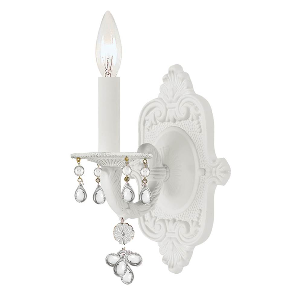 Crystorama Sconce Wall Lights item 5201-WW-CLEAR