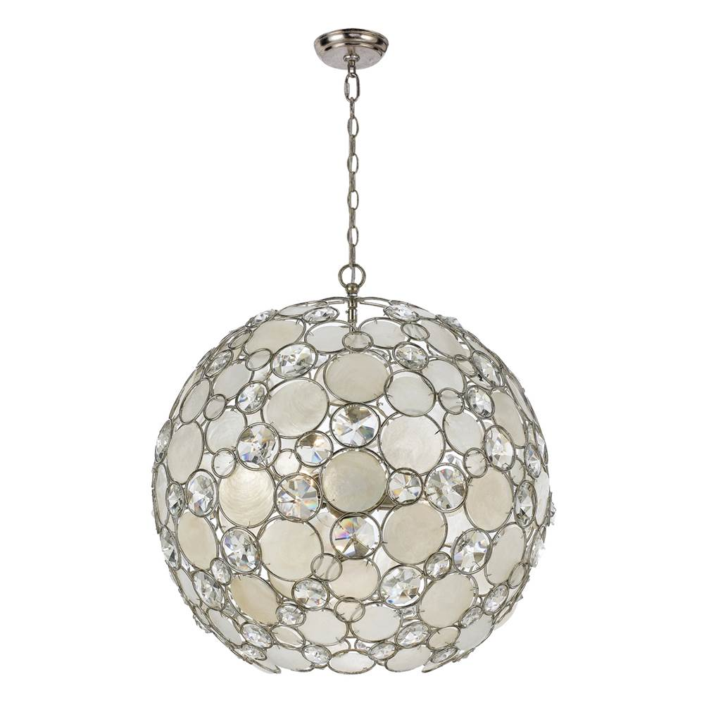 Crystorama Cage Pendants Pendant Lighting item 529-SA